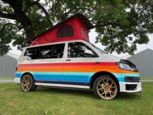 Gay Pride Camper